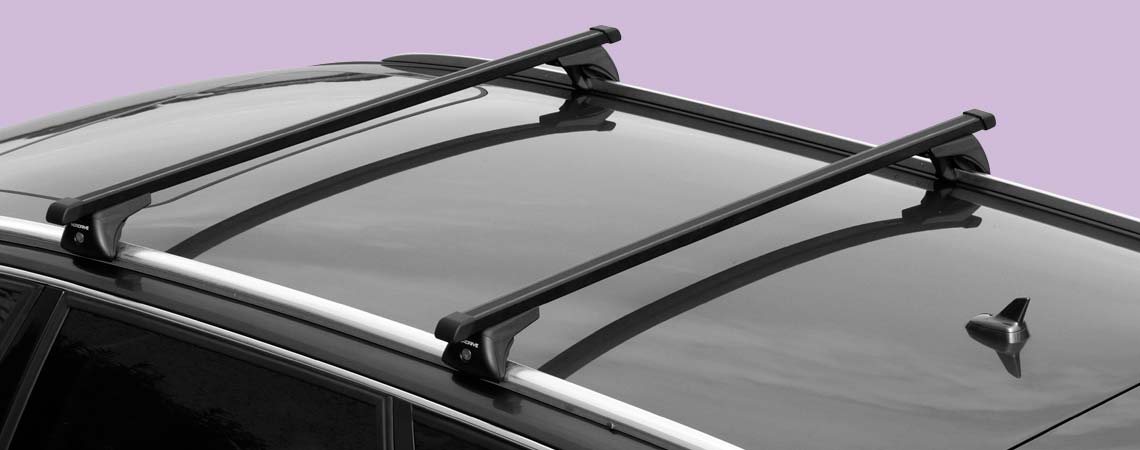 In-Rail Steel, steel roof bars, 2 pcs