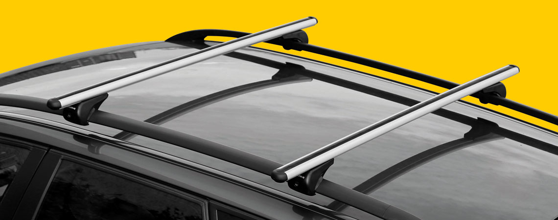 Rail-Pro, aluminium roof bars, 2 pcs