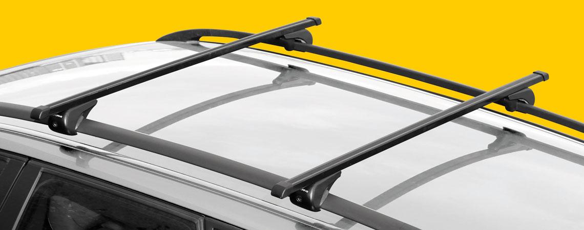 Rail-Top, steel roof bars, 2 pcs