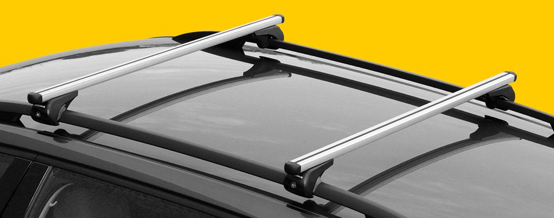 Yuro, aluminium roof bars, 2 pcs