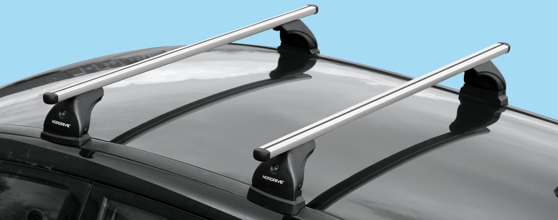 Helio, pair of aluminium roof bars