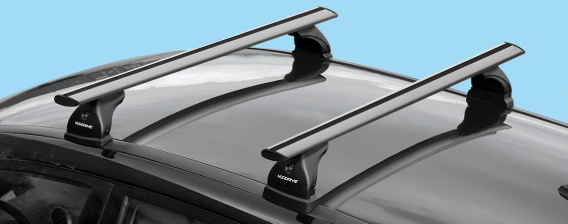 Silenzio, pair of aluminium roof bars