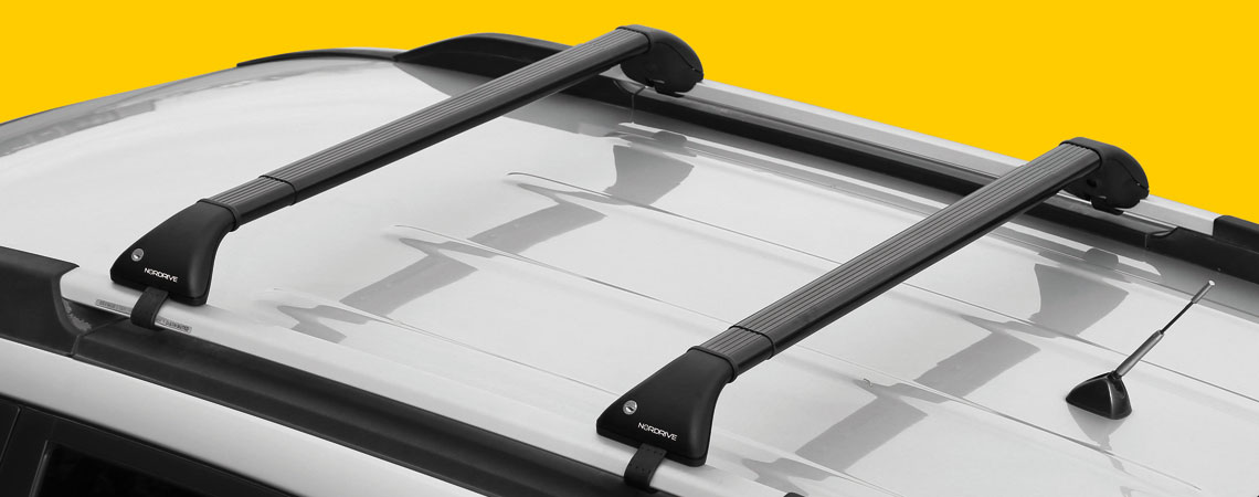 Snap-Fit Steel, telescopic steel roof bars, 2 pcs